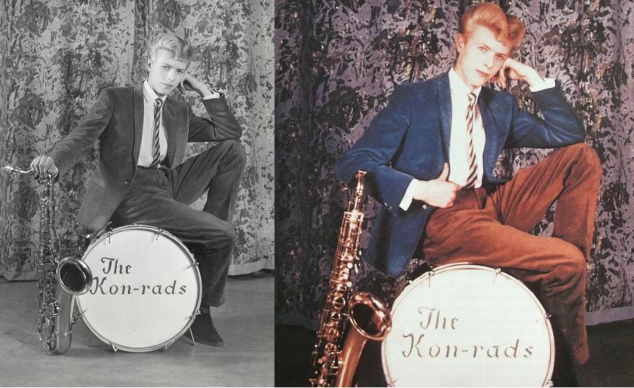 Werbefotografi e für The Kon-rads, 1963 Fotografi e von Roy Ainsworth Courtesy: The David Bowie Archive Foto © Victoria and Albert Museum